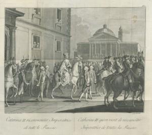 Catherine II impératrice de Russie