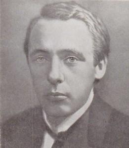Portrait de V. Khlebnikov, extrait de son livre Стихотворения, поэмы, драмы, проза /Stihotvoreniâ, poèmy, dramy, proza, 1986