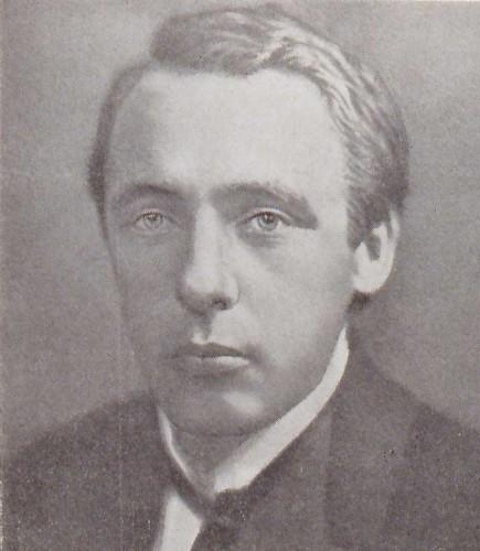 Portrait de V. Khlebnikov,