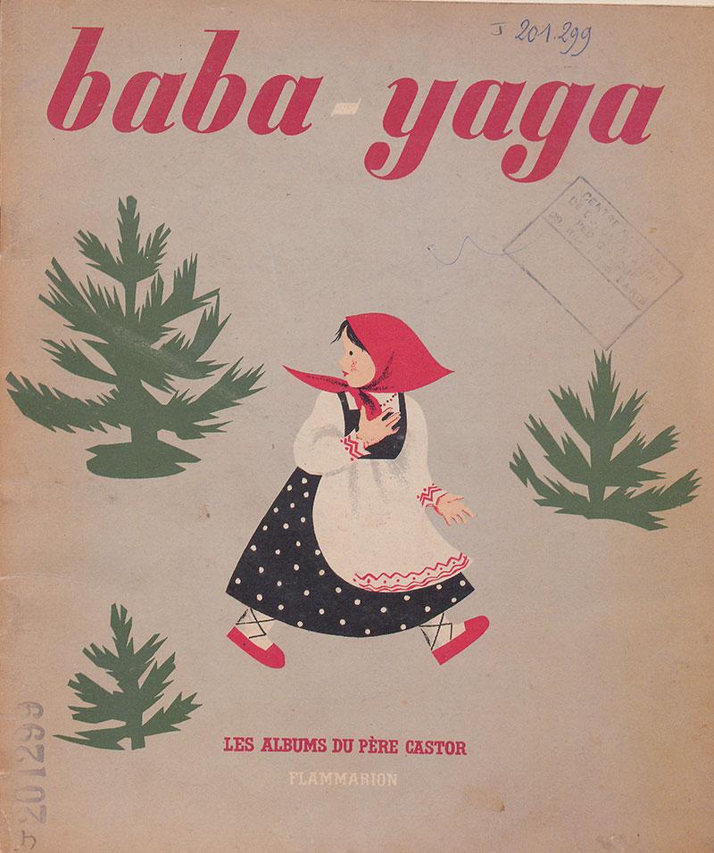 Belles illustrations  Baba-yaga