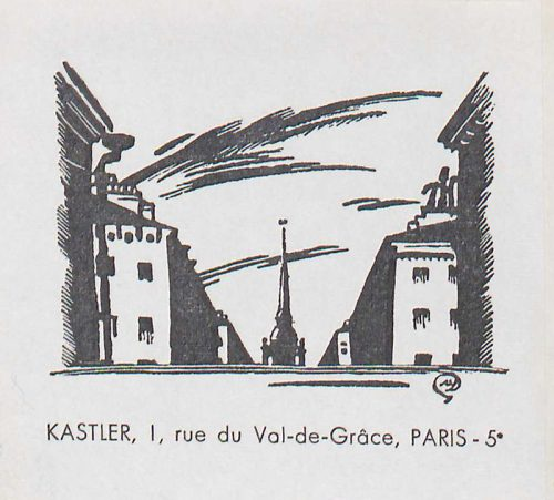 Ex-libris de Claude Kastler