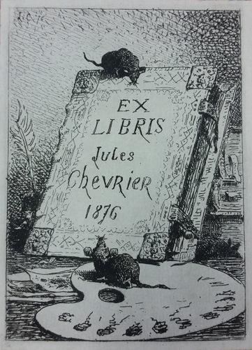 01-Ex-libris-de-Jules-Chevrier